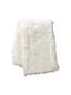 Decke aus Schaffellimitat