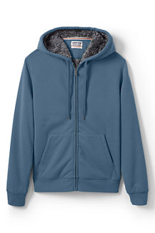 Men's Serious Sweats Sherpa-lined Hooded Zip Jacket