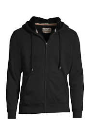 Men's Big and Tall Serious Sweats Full Zip Sherpa Hoodie