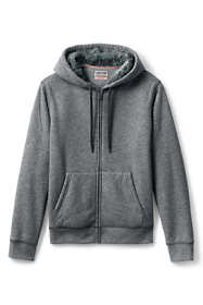 Men's Serious Sweats Full Zip Sherpa Hoodie