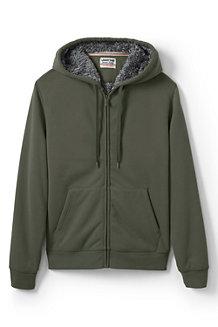 Men's Serious Sweats Sherpa-lined Hooded Zip Jacket