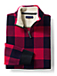 Men's Regular Plaid Half-zip Pullover
