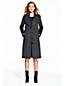 Women's Wool/Cashmere Shawl Collar Cocoon Coat