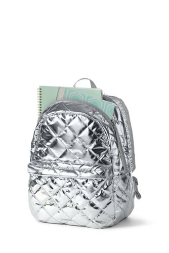 Girls' Quilted Backpack