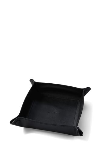 Men's Luxe Leather Valet Tray
