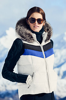 Women's HyperDRY Colourblock Explorer Down Gilet