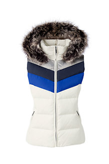 Women's HyperDRY Colourblock Hooded Down Gilet