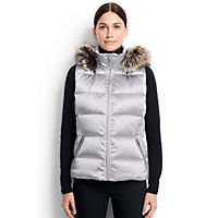 LandsEnd.com deals on Lands End Women's Hooded Down Vest