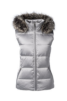 Women's HyperDRY Hooded Shimmer Down Gilet