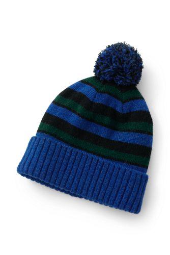Men's Chunky Knit Bobble Hat