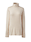 Women's Regular Cotton/Modal Metallic Roll Neck