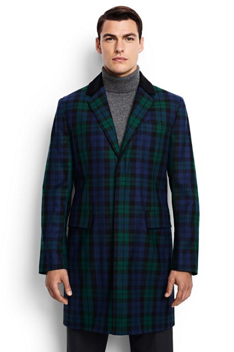 Men's Blackwatch Crombie Coat