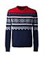 Men's Regular Fair Isle Lambswool Sweater