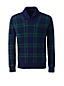 Men's Regular Shawl Collar Lambswool Sweater