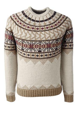 Men's Regular Fair Isle Sweater