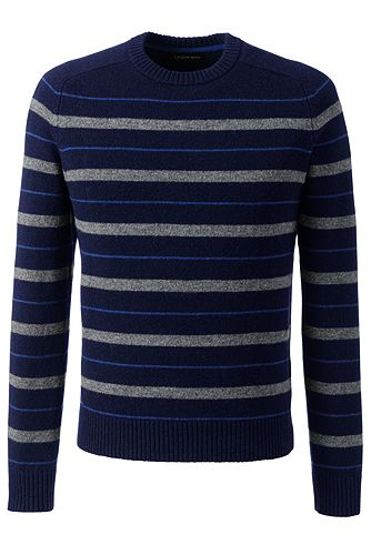 Lambswool Crew Sweater 480560: Classic Navy / Blue