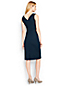 Women's Regular Portrait Collar Jersey Dress