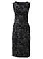 Women's Regular Flock Print Ponte Jersey Darted Dress