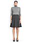 Women's Regular Wool Blend Flounce Skirt