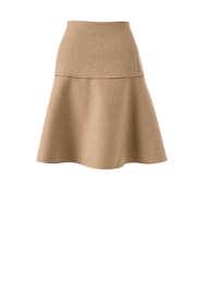 Women's Petite Woven Flounce Skirt