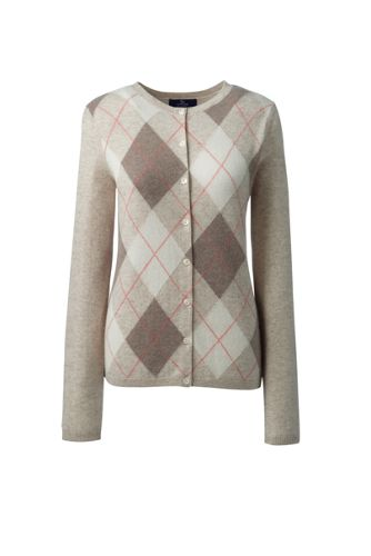 Womens Plus Size Cashmere Cardigan Sweater From Lands End