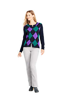 Women's Petite Cashmere Cardigan Sweater, Unknown