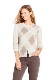 Women's Petite Cashmere Cardigan Sweater