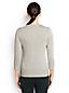 Supima Feinstrick-Pullover mit Pailletten-Verzierung für Damen