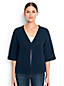 Women's Regular Lofty Cotton Textured V-neck Cardigan