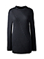 Langer Pullover mit diagonalem Rippstrick für Damen