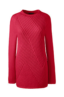 Women's Lofty Cotton Boatneck Jumper