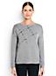 Wollmix-Pullover mit Kaschmir und Schmucksteinen für Damen