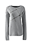 Women's Regular Wool Blend Embellished Crew Neck Jumper