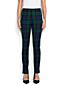 Le Pantalon Parfait Stretch Taille Rabaissée à Motifs, Femme Stature Standard