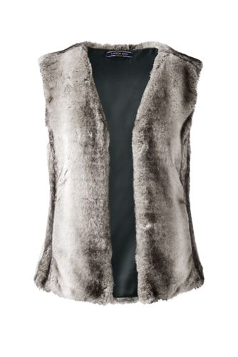 Women's Regular Faux Fur Gilet