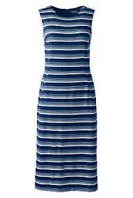 Womens Regular Stretch Jersey Maxi Dress - 10 -12 - BLUE Lands End dZgARO1U