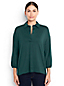 Women's Regular Lightweight Cotton Modal Pleat Front Popover