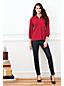 La Blouse Légère en Coton et Modal, Femme Stature Standard