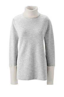 Women's Starfish Marled Slouchy Roll Neck