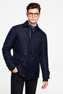 Men's Down Car Coat