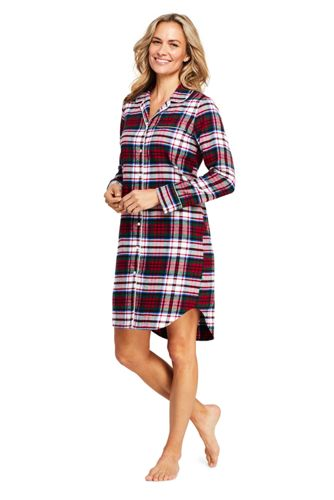 Flannel Nightgowns | Women\'s Nightgowns | Lands\' End