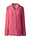 Gemustertes Flanell-Pyjamahemd für Damen