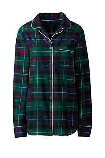 Women's Patterned Flannel Pyjama Shirt