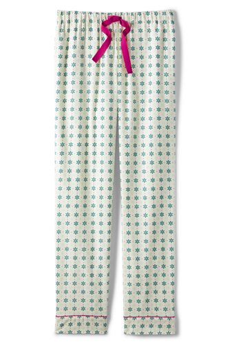 Women's Regular Plaid Flannel Pyjama Bottoms