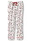 Le Pantalon de Pyjama en Flanelle à Motifs, Femme Stature Petite