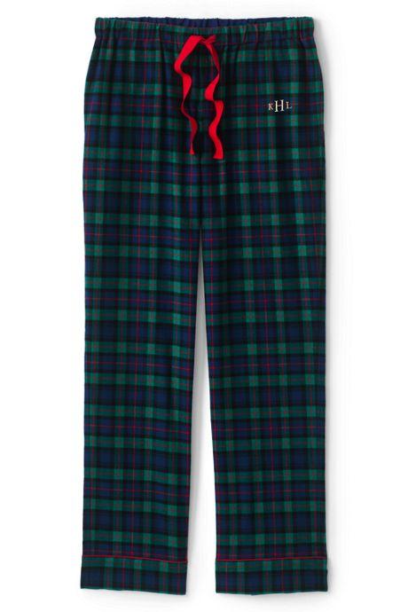 Women's Print Flannel Pajama Pants