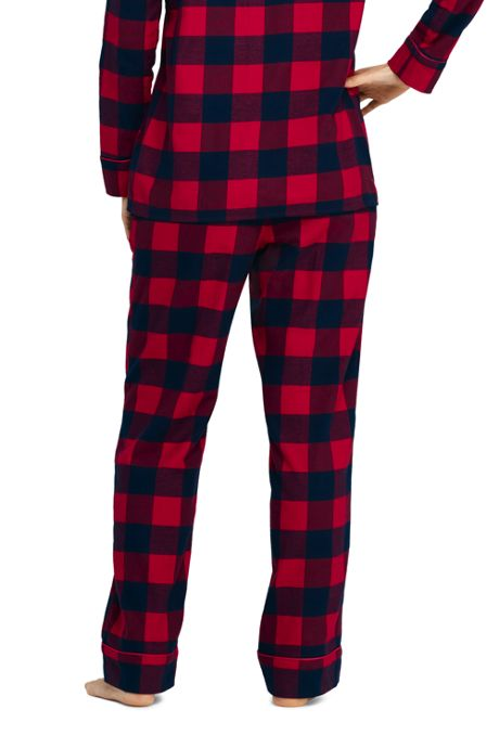 Women's Print Flannel Pajama Pants