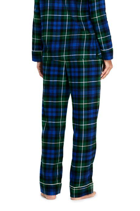 Women's Petite Print Flannel Pajama Pants
