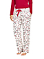Women's Plaid Flannel Pyjama Bottoms