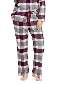 Women's Plaid Flannel Pyjama Bottoms